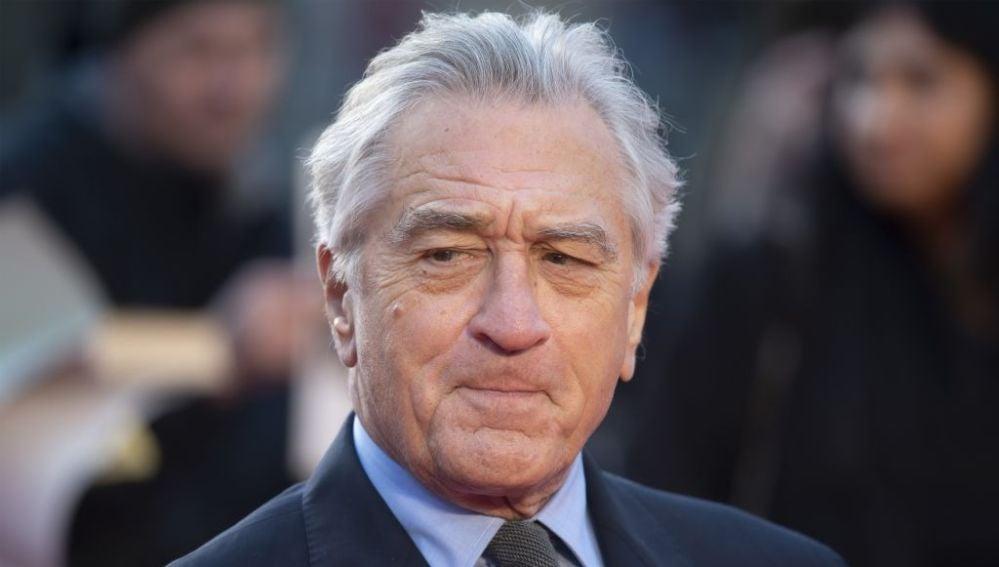 El actor Robert De Niro en una de sus últimas apariciones públicas