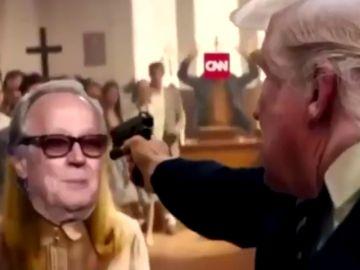 Un vídeo falso de Donald Trump matando a sus oponentes desata la polémica