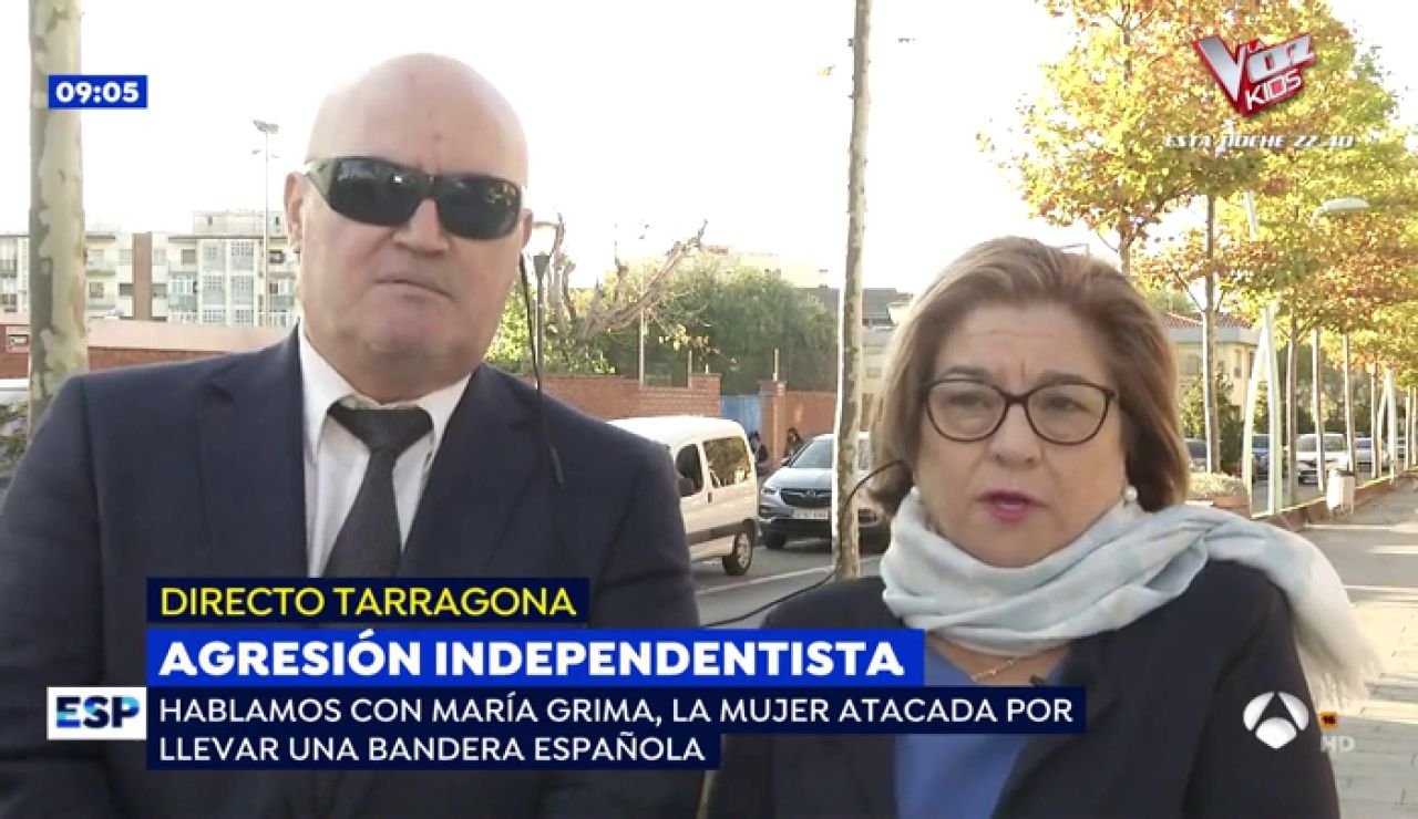 Mujer agredida en Tarragona.