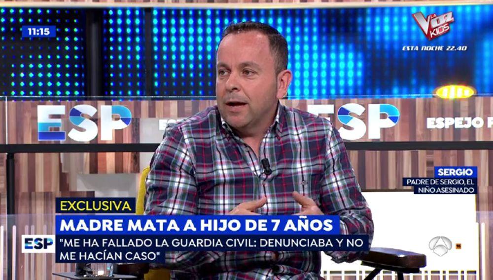"""El calvario del padre del niño asfixiado por su madre: """"La Guardia Civil y Asuntos Sociales me han fallado"""""""