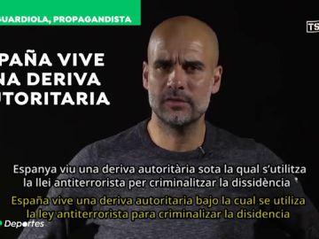 Las contradicciones de Guardiola: de los ataques a España a defender la dictadura de Catar