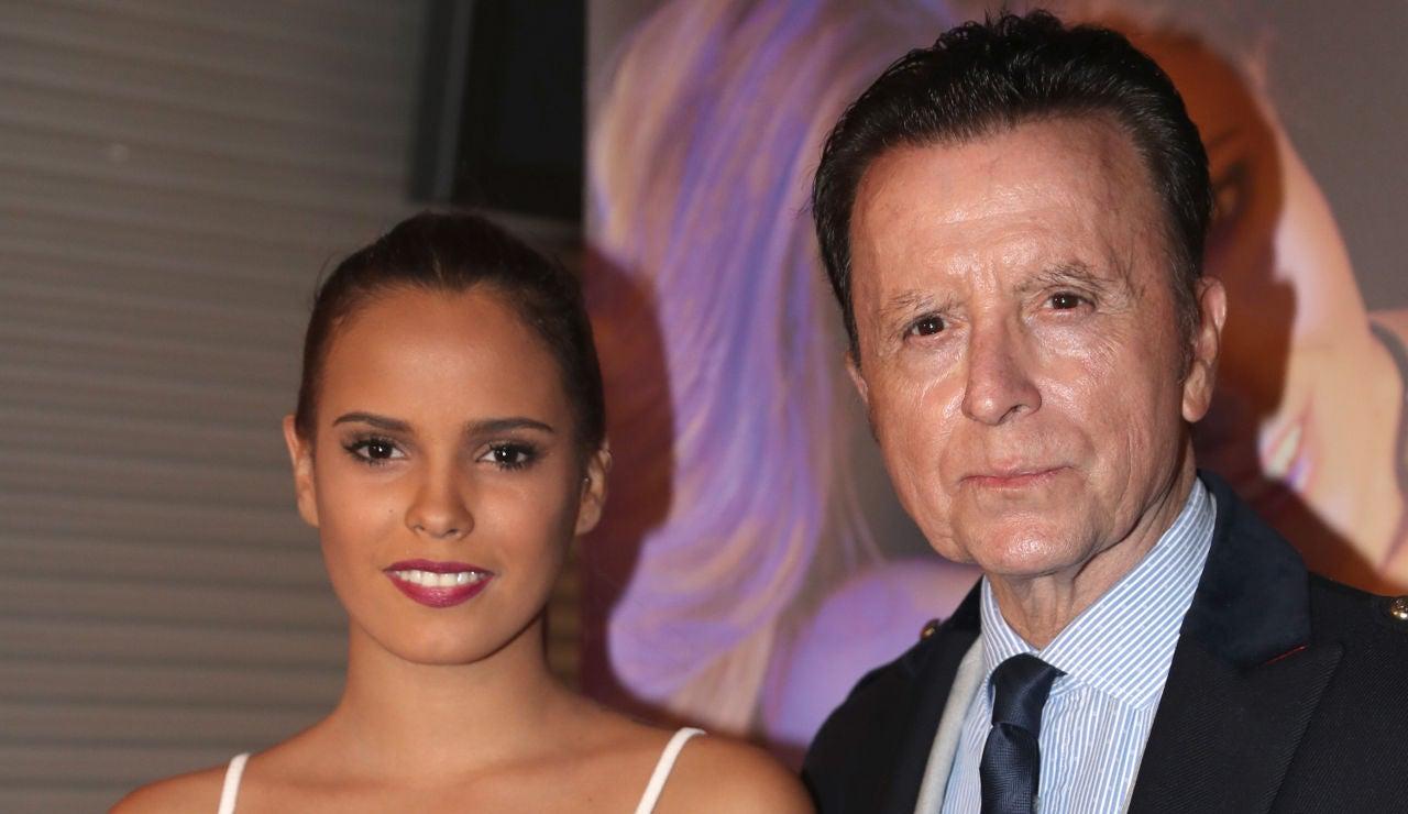 Ortega Cano y su hija Gloria Camila