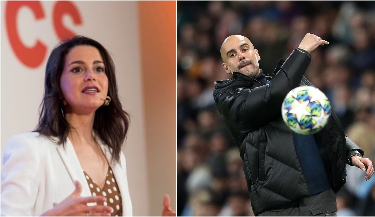 Inés Arrimadas responde a Guardiola