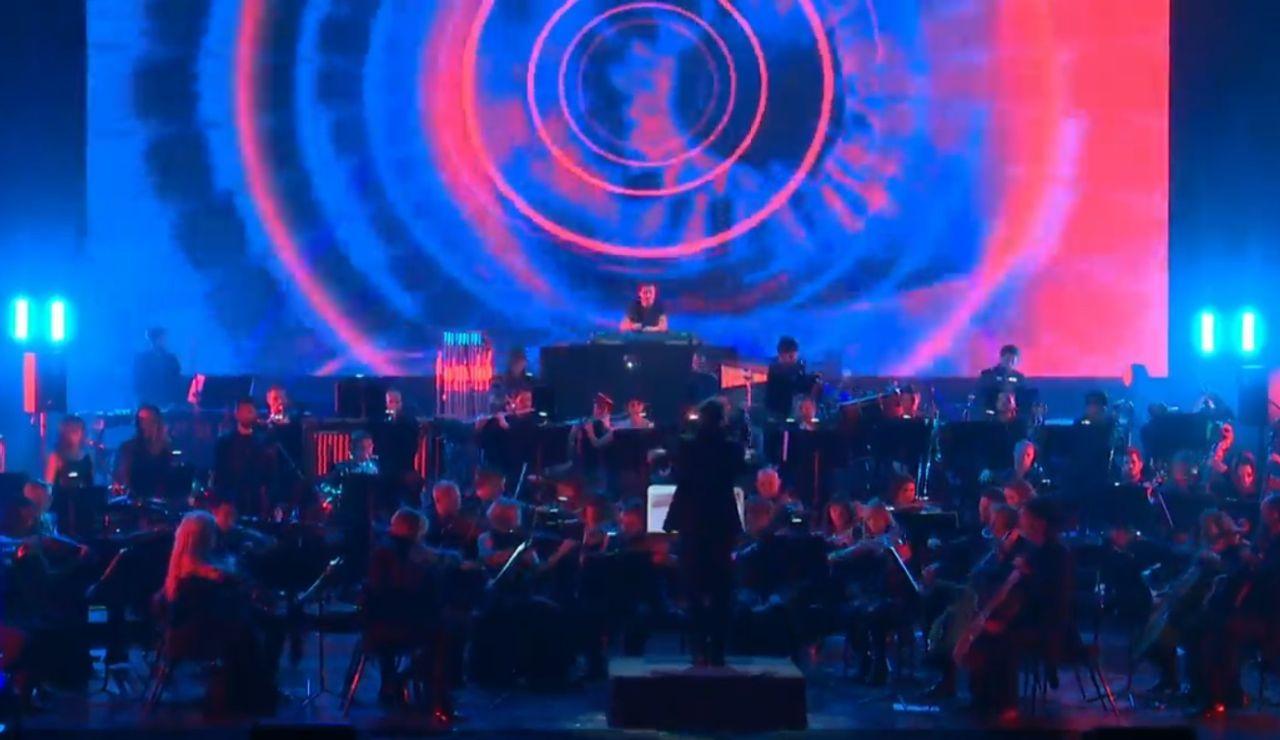 Orquesta sinfónica en el Teatro Real