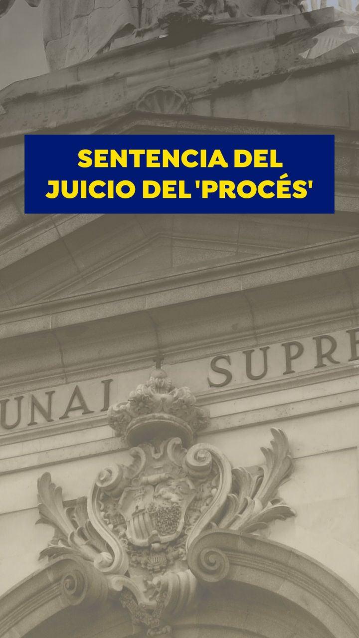 La sentencia del procés