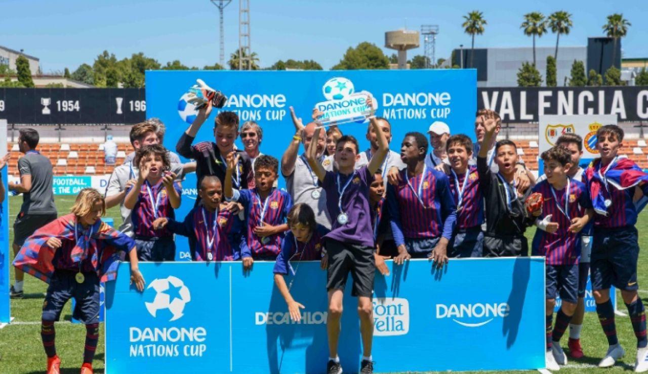 El FC Barcelona en la Danone Nations Cup