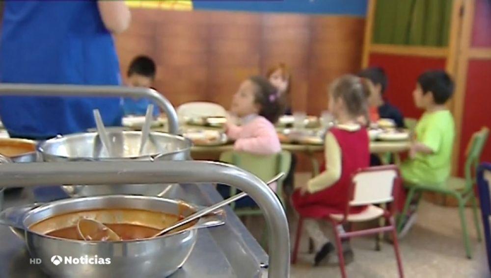 Una treintena de colegios de Jaén se quedan sin comedor