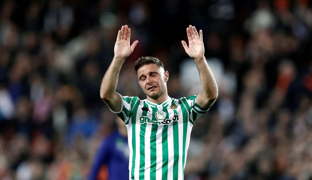 Joaquín durante un partido