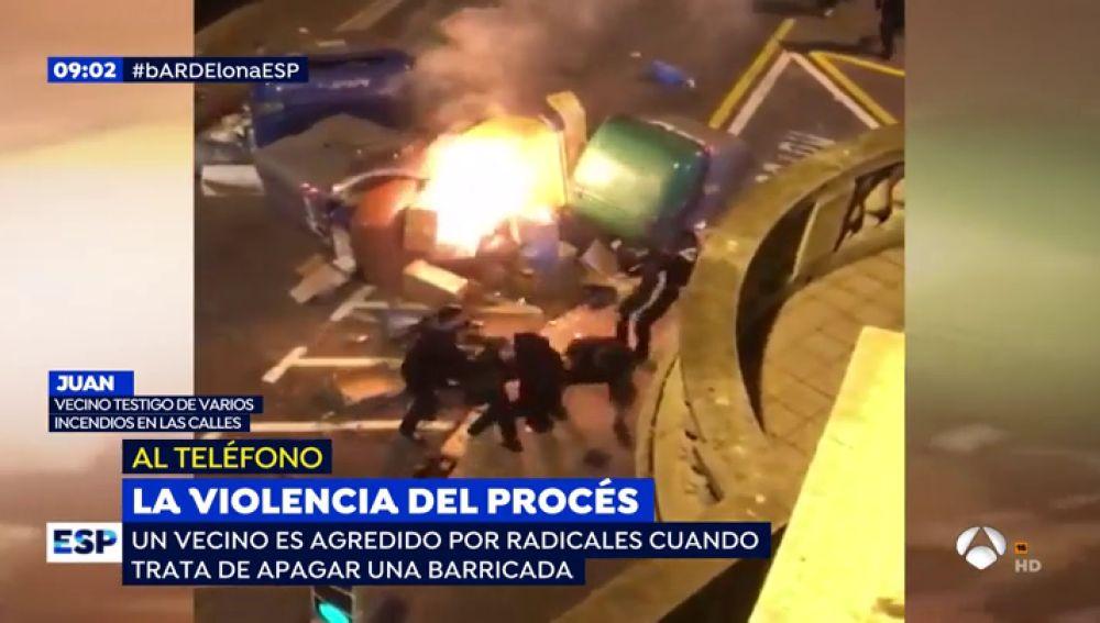 Disturbios de Barcelona