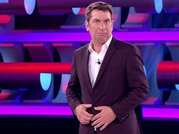 Una concursante de '¡Ahora caigo!' deja a Arturo Valls pasmado y sin palabras