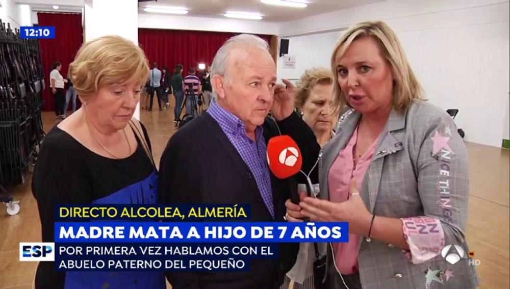 """El abuelo del niño asesinado por su madre en Almería: """"Había tardes que la Policía venía a mi casa dos veces"""""""