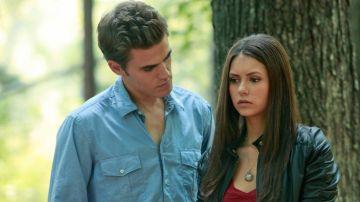 Paul Wesley y Nina Dobrev en 'Crónicas Vampíricas'