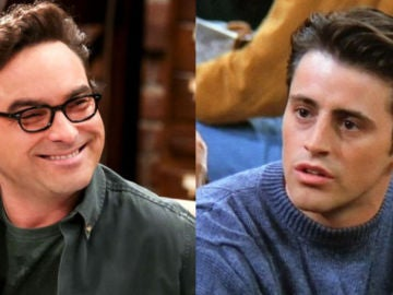Johnny Galecki (Leonard en 'The Big Bang Theory') y Matt LeBlanc (Joey en 'Friends')