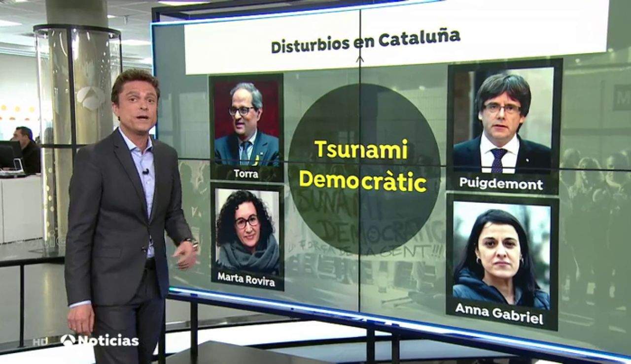 Así se fundó 'Tsunami Democratic', la plataforma que está detrás de las protestas