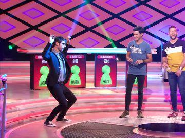 Juanra Bonet desata la locura en el plató de '¡Boom!' con un sensual baile