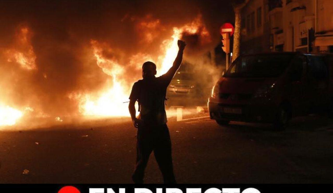 Manifestantes cataluña