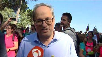 """Torra se une a las protestas: """"Este presidente está al lado de la gente"""""""