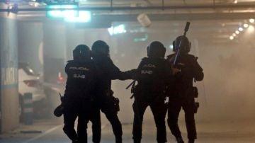 Miembros de la Policía Nacional