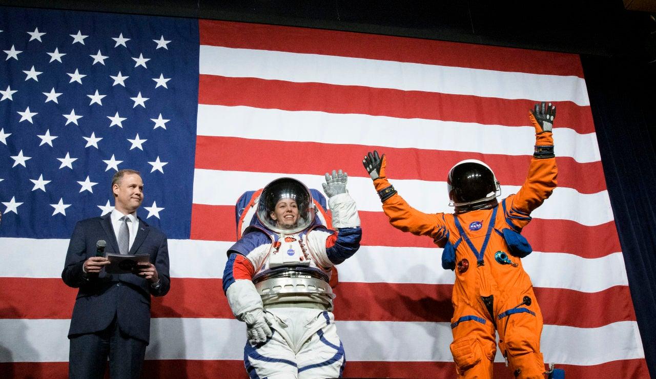 Los nuevos trajes de la NASA