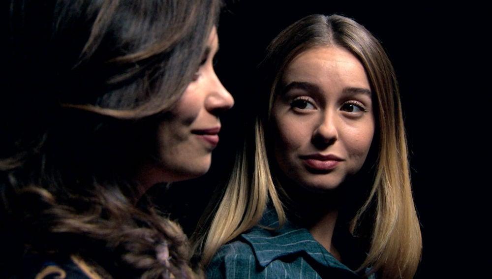 Luisita y Amelia se dicen adiós soñando un futuro juntas