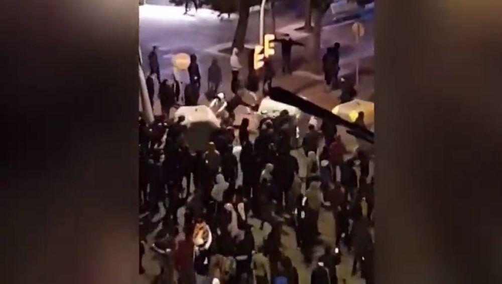 Investigan un doble atropello de los Mossos en Tarragona durante las manifestaciones por el 'procés'