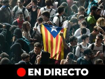 Última hora de Cataluña y Barcelona, en directo: Protestas, disturbios y movilizaciones hoy
