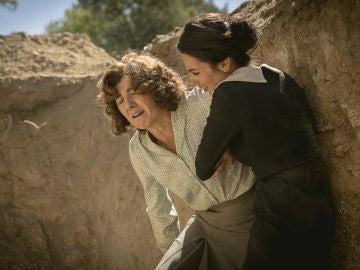 Manuela y Encarnación, heridas y atrapadas en medio del bosque