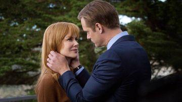 Nicole Kidman y Alexander Skarsgard en 'Big Little Lies'