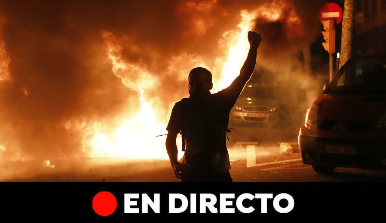 Última hora Cataluña: Protestas, disturbios, movilizaciones y últimas noticias hoy, en directo