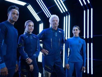 Los trajes espaciales de Virgin Galactic