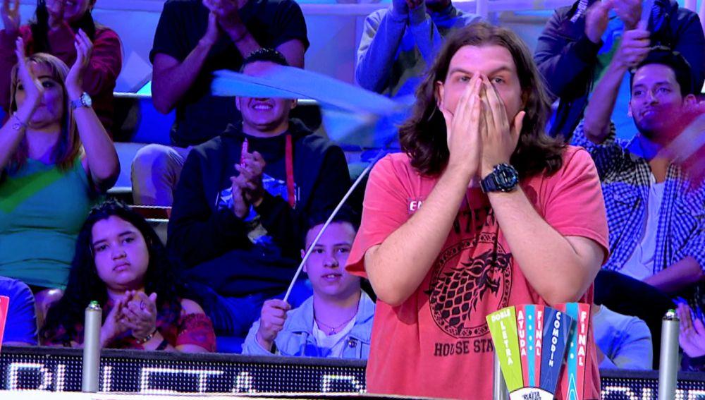 El sorprendente truco de un concursante para resolver el panel exprés de 'La ruleta de la suerte'