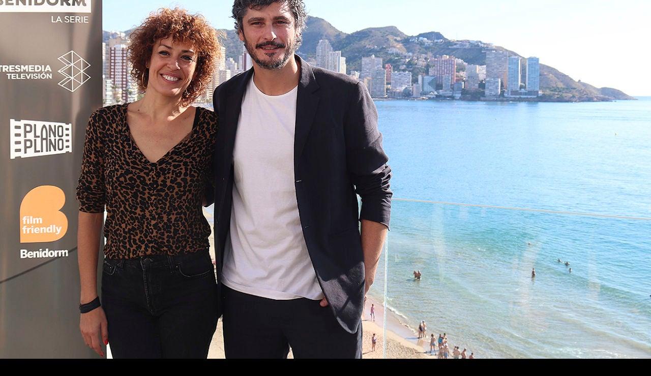 María Almudéver y Antonio Pagudo, protagonistas de 'Benidorm'