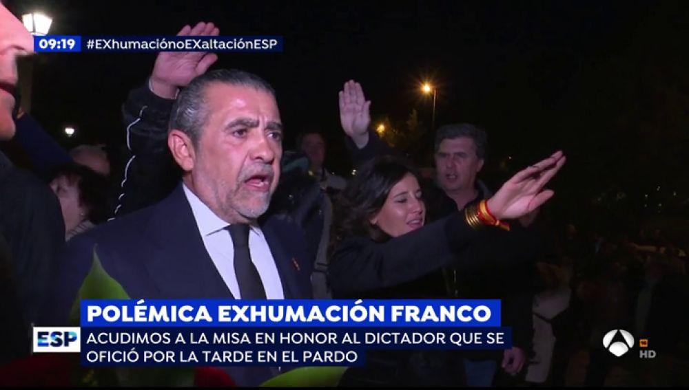 Polémica exhumación Franco.