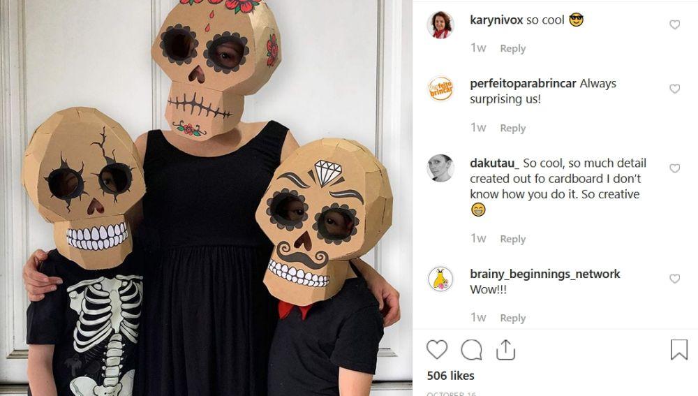 Los disfraces de Zygote Brown en Instagram