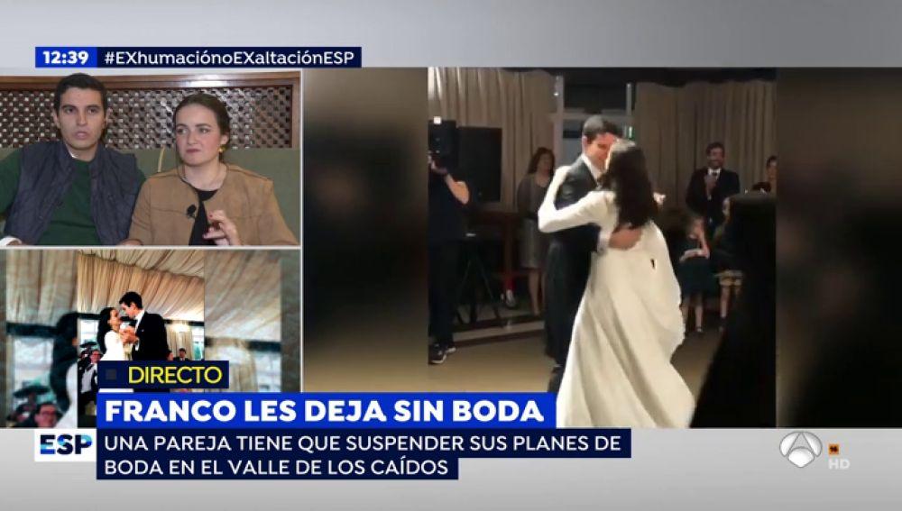 Franco les deja sin boda.
