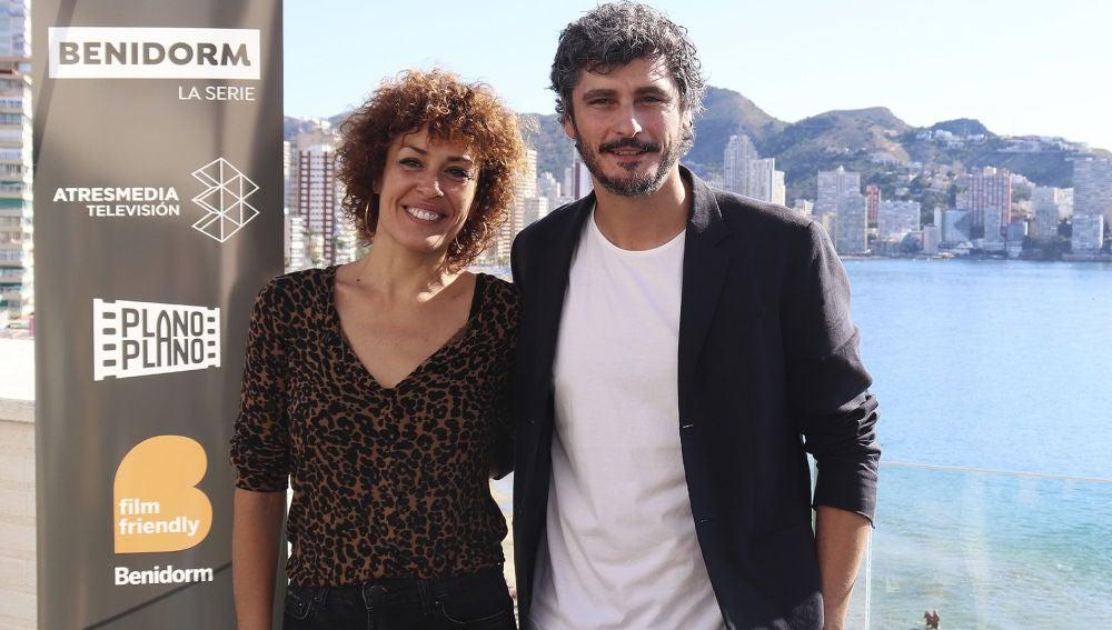 Antonio Pagudo y María Almudéver protagonizarán 'Benidorm'