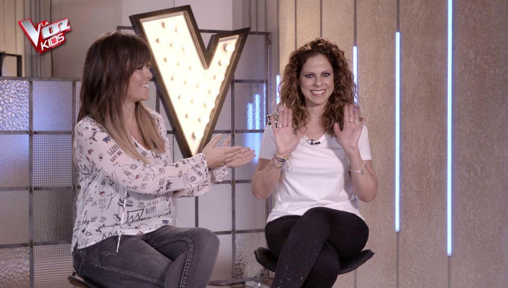 """Vanesa Martín y Pastora Soler ante el reto de las Batallas de 'La Voz Kids': """"Ya estamos sufriendo"""""""