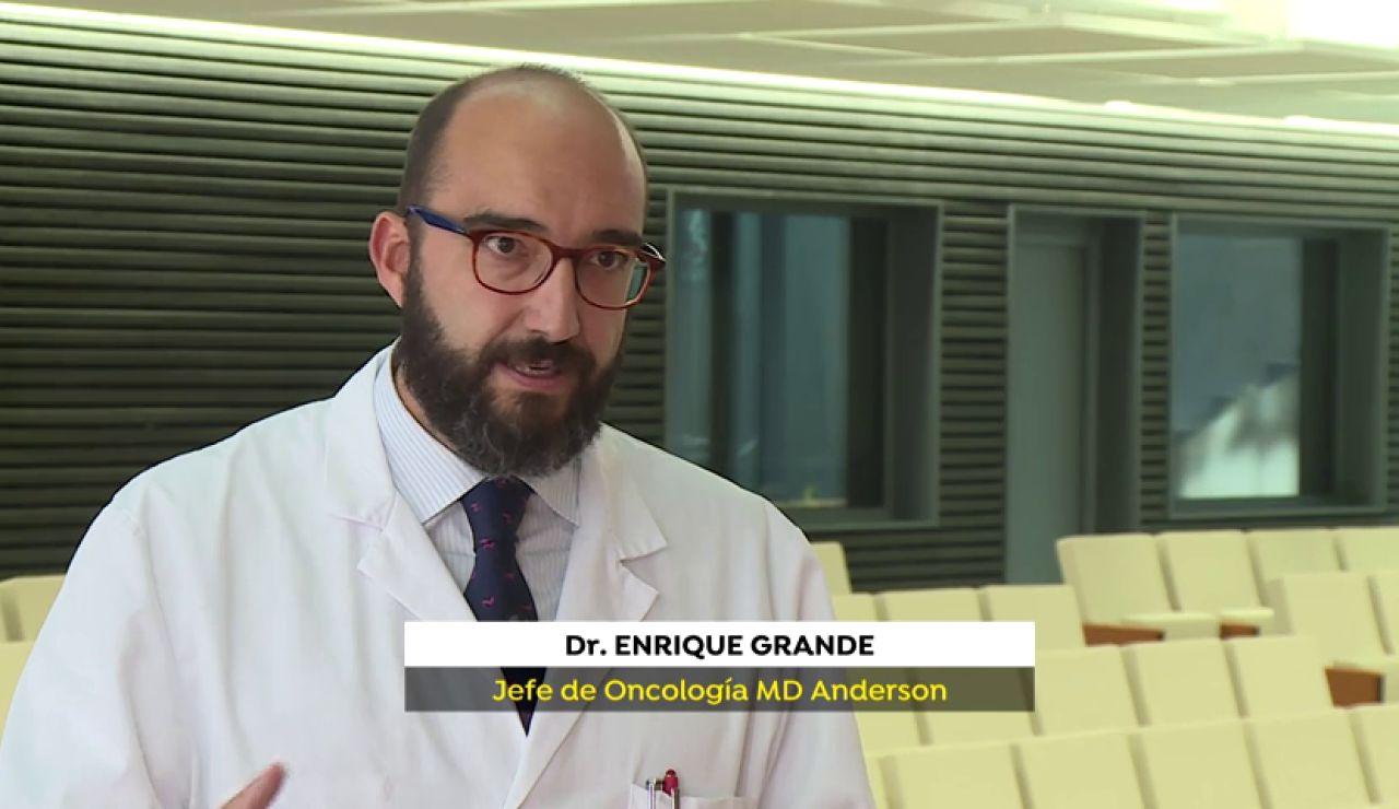 La situación del cáncer en Espala, según Enrique Grande, jefe de oncología MD Anderson España