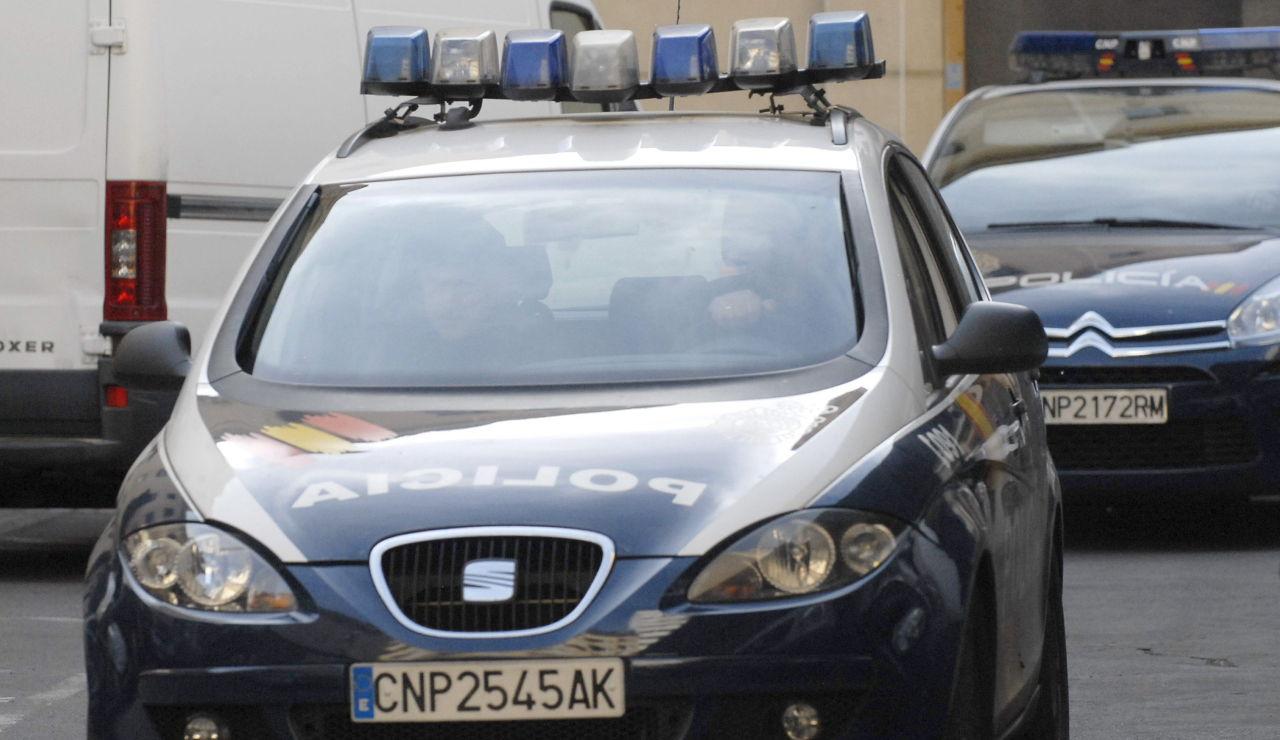 Coche de policía (archivo)