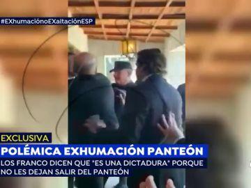 Polémica exhumación de Franco