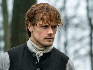 Sam Heughan, Jamie Fraser en 'Outlander'