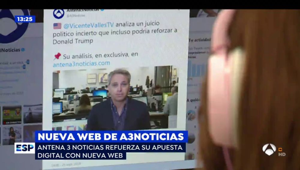 Nueva web de Antena 3 Noticias
