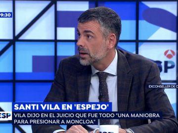 Santi Vila en 'Espejo Público'