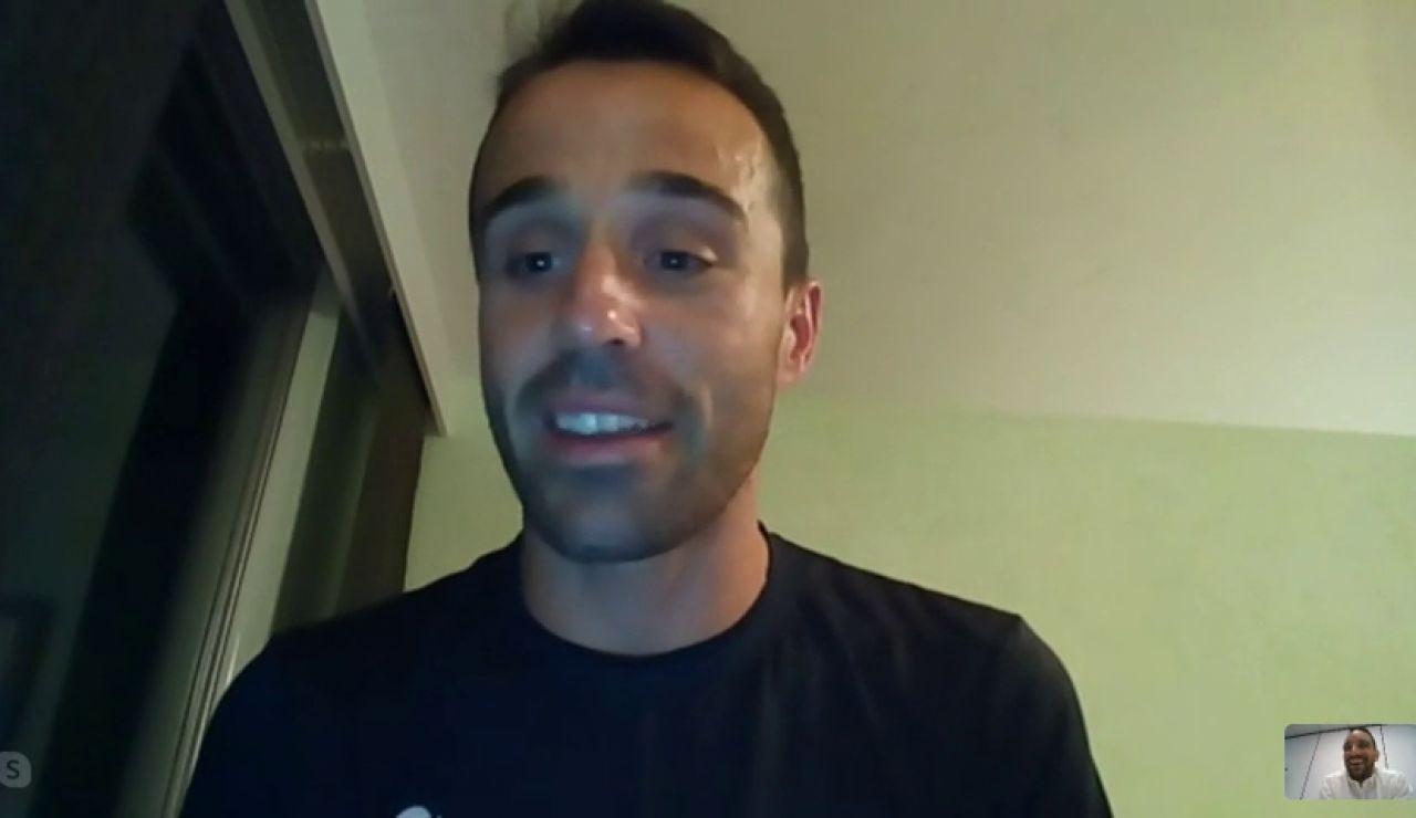 """La sorprendente petición de mano de Ivan Cáceres tras ganar un 'Ironman' en Hawai: """"Si lo organizo, no sale tan bien"""""""