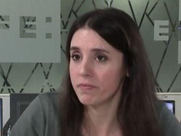 Irene Montero, portavoz de Unidas Podemos