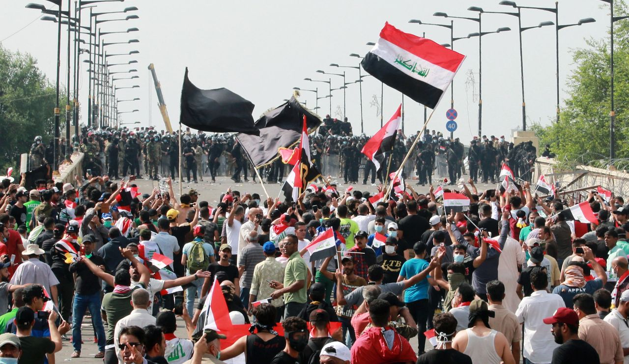 Manifestación en Irak