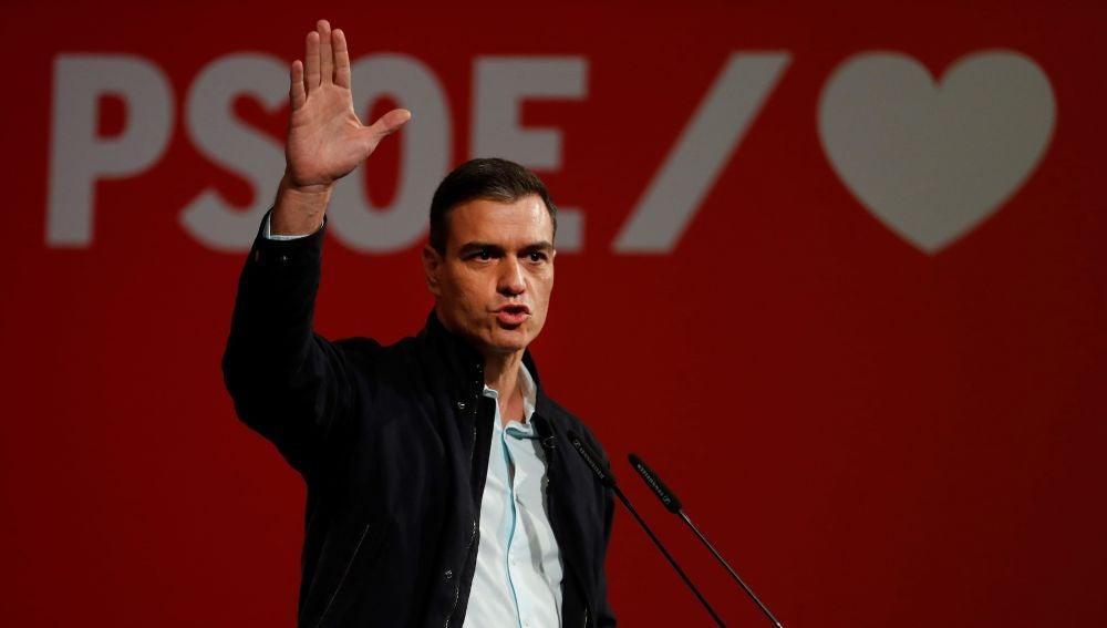 Pedro Sánchez llama a la movilización para las elecciones generales 2019