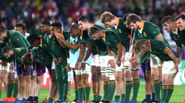 Sudáfrica celebra el triunfo