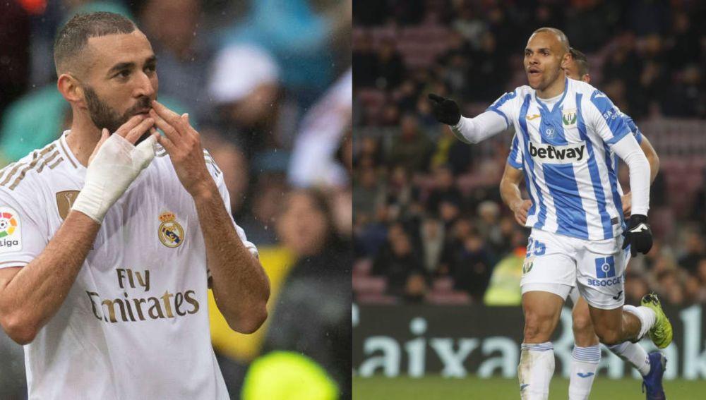 Alineaciones del Real Madrid y Leganés del partido de hoy de la Liga Santander