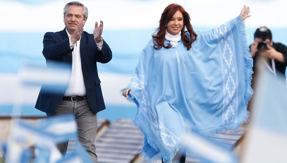 Alberto Fernández y Cristina Fernández Kirchner